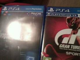 Gran turismo and hidden agenda brand new games
