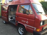 VW T25 T3 transporter Westfalia Joker campervan