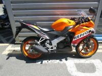 Honda CBR125 - Popular Repsol colours!