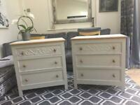 Drawers/bedside cabinets