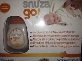 Snuza go! Cordless portable movement monitor baby