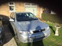 2002 Vauxhall Astra, 1.6 , 4 door hatch