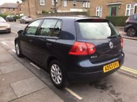 2004 VOLKSWAGEN GOLF 1.6 PETROL 6 SPEED GEAR BOX 5DR FSH LOW MILAGE