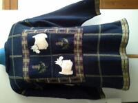 Accon navy jumper size medium pure cotton