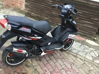 pulse force 50cc racing scooter moped brand new