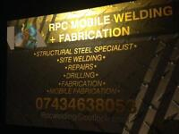 RPC mobile welding and fabrication