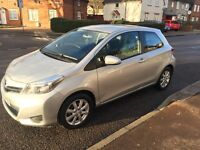 TOYOTA YARIS 2012 TR VVT I EXTREMELY LOW MILEAGE 8600