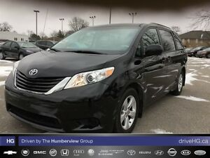 2013 Toyota Sienna LE 8 Pass V6 6A | ONE OWNER | ACCIDENT FREE |