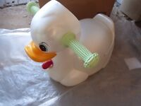 Mamas and Papas duck potty with lid