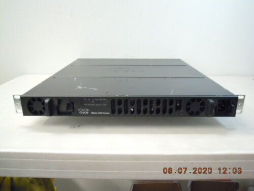 ISR4431-SEC/K9 Cisco ISR4431 Router with SecurityK9 License & 1 AC Power Supply