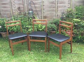 1960s Retro Dining Chairs For Sale
