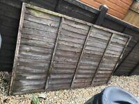Free fence panel