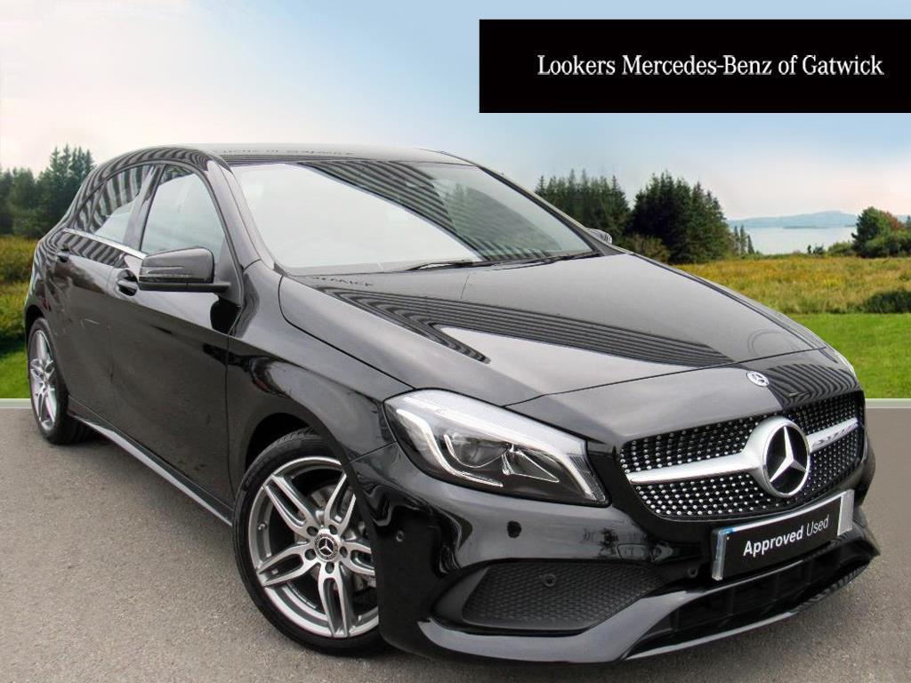 mercedes benz a class a 200 amg line premium black 2017 11 30 in crawley west sussex gumtree. Black Bedroom Furniture Sets. Home Design Ideas
