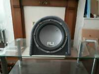 1000 WATTS SUB WOOFER- AMPLIFYER , KENWOOD CAR STERO AND SPEAKERS FOR SALE