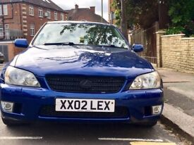 LEXUS IS200 (Plate Included)