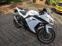 Kawasaki Ninja 300 with Akrapovic Exhaust