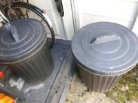 Rubbish /storage bins