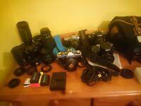 Sony A100 Alpha, Lenses, Flash, batteries, cards, minolta, A mount lenses