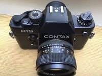 Contax RTSII with Zeiss 50MM f1.4