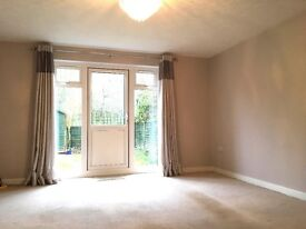 A 2 double bedroom house, rear garden and parking for 2 cars. Available in July.