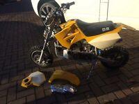 Mini Moto DR50 motorbike