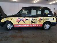 HACKNEY CAB 12 month's mot drives superb clean and tidy all good tyres bargain price