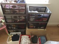 Huge buddle of girl's kids clothes from birth till 3 years