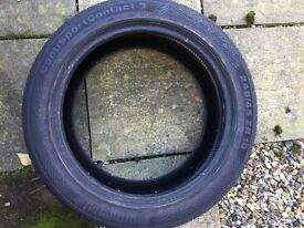 Continental Sport Contact3 tyres x2 245 R18