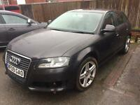 2009 AUDI A3 2.0 TDI damaged repairable sporthatch px considered