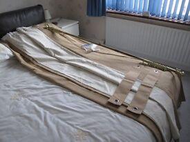 One pair Paul Simon's curtains