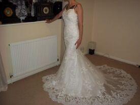 Wedding Dress. New ivory size 6.