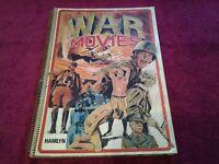 War Movies - Tom Perlmutter - Hamlyn - Good Condition - Spiral Bound - 1974 - Collector's Item