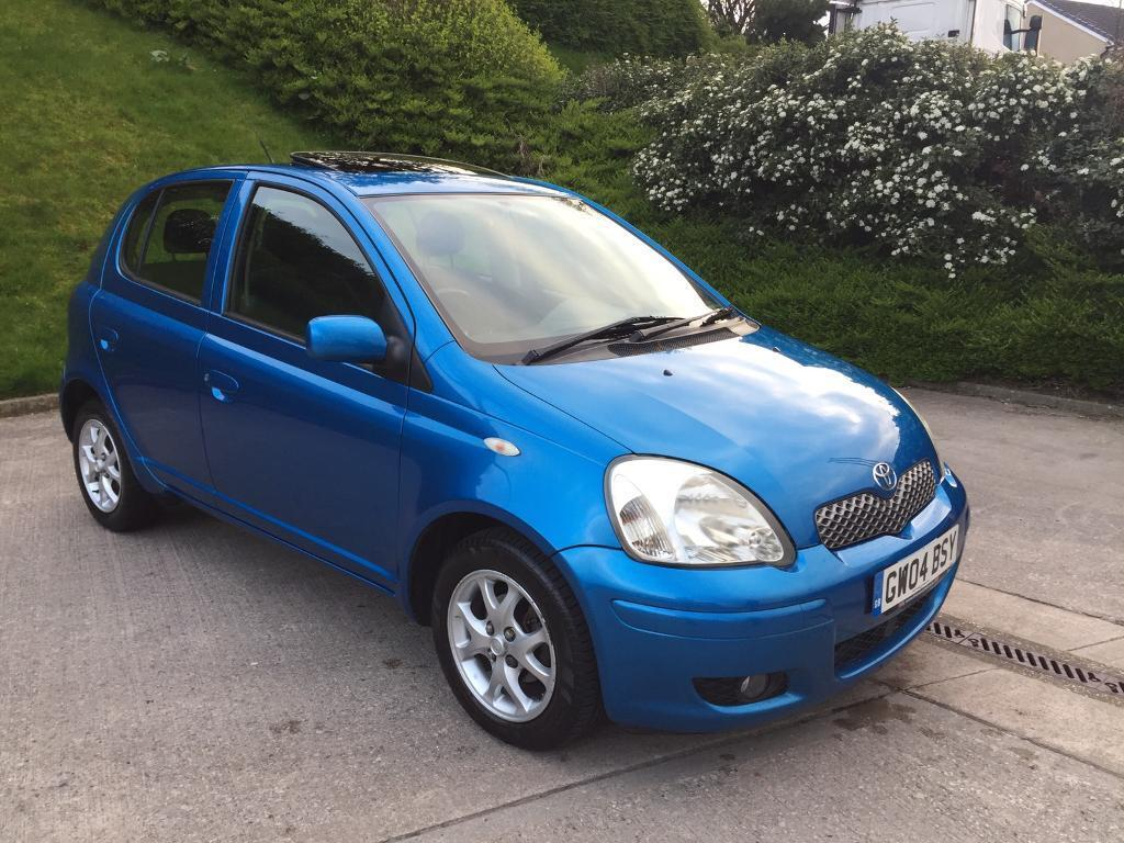 toyota yaris t spirit 1 0 petrol 5 door hatchback blue 2004 year in bradford west. Black Bedroom Furniture Sets. Home Design Ideas