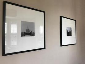 Modern photography framed