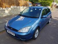 2003/52 Ford Focus LX 1.6 i 16v 5dr **LONG MOT/LOW & TAX INSURANCE**
