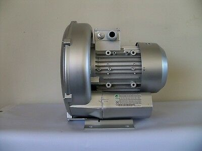 Regenerative Blower 1.27hp 103cfm 64h2o Press 220480v3ph Side Channel Blower