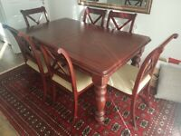 Beautiful Solid Mahogany Dining Room Furniture For Sale