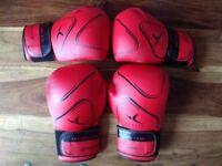 2 pairs kickboxing gloves Domyos FKT180 - new