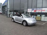 2003 53 VOLKSWAGEN BEETLE 1.6 8V 2d 101 BHP CONVERTIBLE **** GUARANTEED FINANCE ****