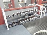 Dumbells Commercial grade 5kg-40kg