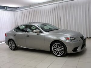 2014 Lexus IS 250 AWD PREMIUM PACKAGE w/ HEATED/COOLED LEATHER,