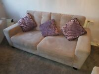 3 seater sofa, 2 seater sofa, armchair & footstool - Sofology Pronto Collection
