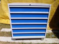 Full Size Bott Cabinet Drawers Roller Draws Locking Casters Free Delivery - Lista Polstore ect