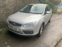 FORD FOCUS 2006 SILVER 1.8 DIESEL 5DR BREAKING FOR PARTS