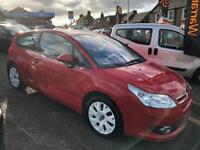 CITROEN C4 1.6 LOEB 16V 3d 108 BHP (red) 2008
