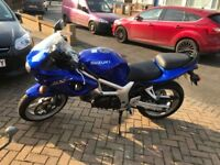 Suzuki SV650S Motorcycle
