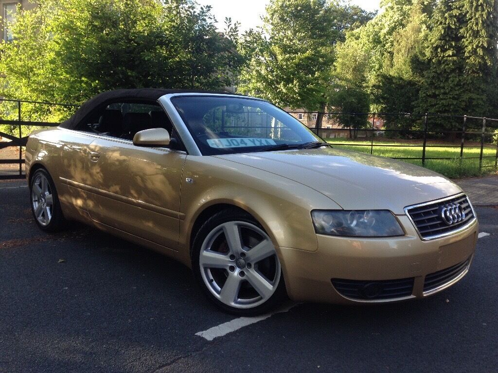 2004 audi a4 cabriolet low miles 1 8 t sport 2dr low miles 17 sline alloy wheels dvd player. Black Bedroom Furniture Sets. Home Design Ideas