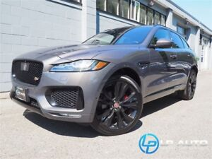 2017 Jaguar F-Pace S! Only 23000kms! Easy Approvals!
