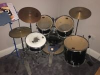 CB Drum kit with silence pads