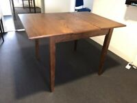 Extendable Table Veneered Wood